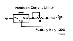 Constant Current Circuit for High Watt LEDs