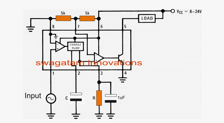 automotive speed limit indicator circuit
