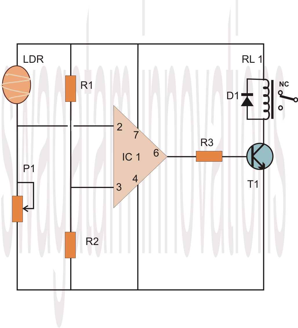Make An 741 Opamp Comparator Circuit Op Amp Operational Amplifier The Is A Very Useful Ic It How To