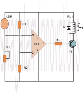 Make an 741 Opamp Comparator Circuit