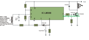 AC Mains Current Detector Circuit