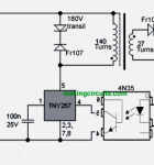 Simple 12V 500mA SMPS Circuit