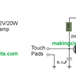 Simple Touch Sensitive Switch Circuit