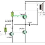 Small Transistor Amplifier Circuit