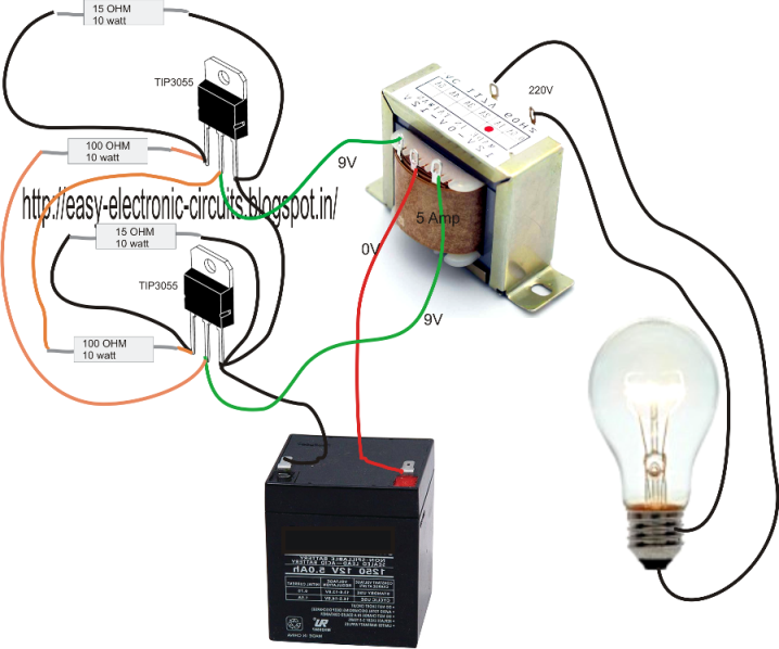 simple inverter circuit