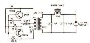 Simple Inverter Circuit for Newcomers