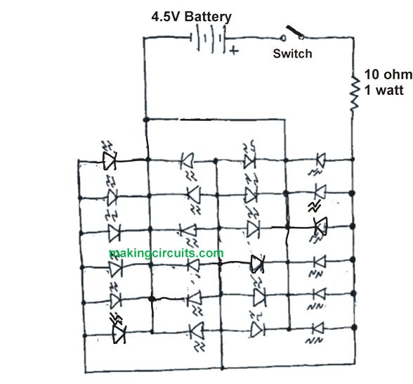 simple high power led flashlight circuit rh makingcircuits com