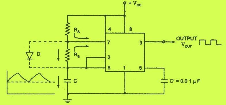 design 555 astable circuit