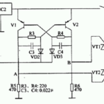 IC 555 Inverter Circuit with Triacs