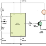 PWM Lamp Dimmer using IC 555