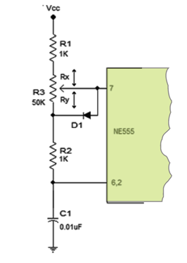 IC 555 PWM control
