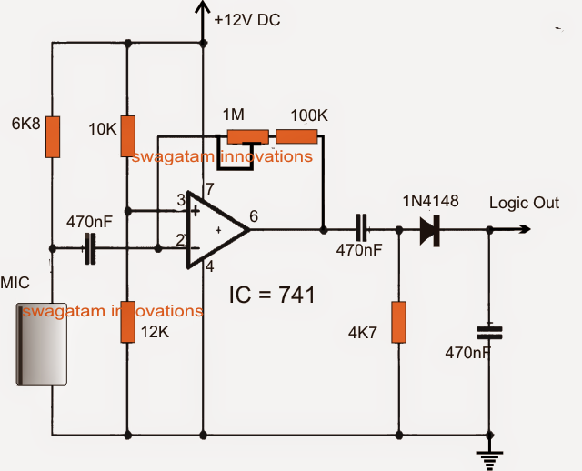 Ultrasonic Alarm Circuit