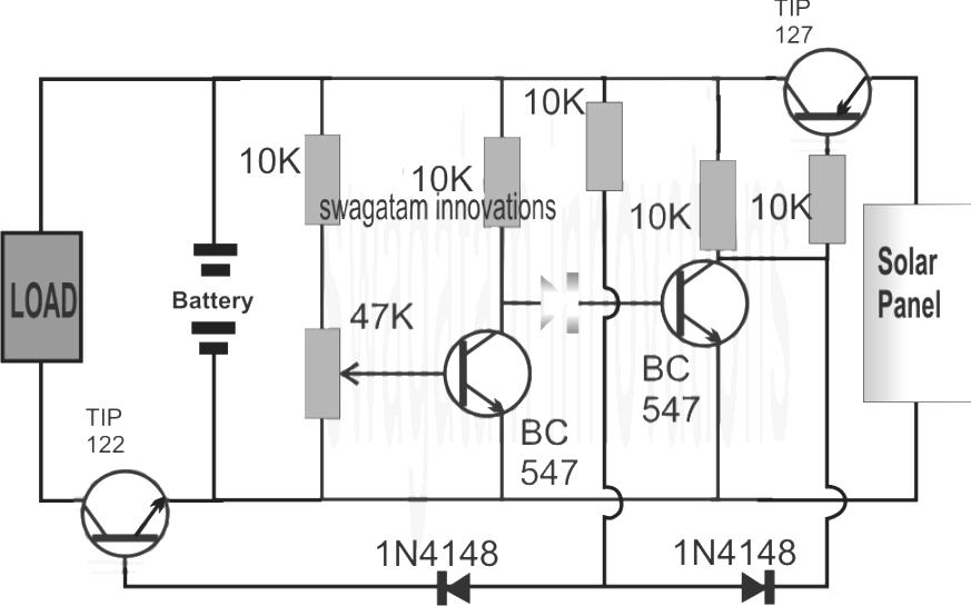 Li-Ion Solar Charger Circuit on nicad charger schematic, li-ion charger schematic, nimh charger schematic, gel cell charger schematic,