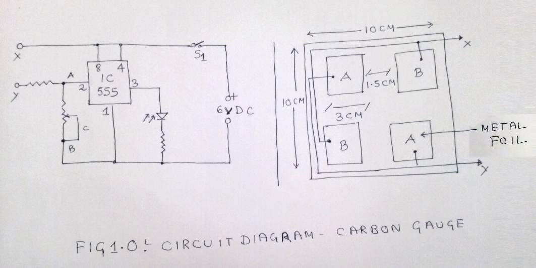 carbon gauge meter circuit