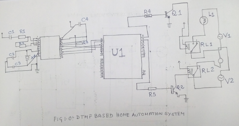 Simple Home Automation System Circuit