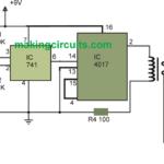 Automatic Light Circuit for Washroom