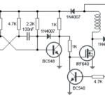 Simple Boost Converter Circuit