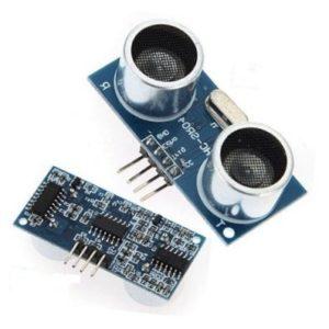 distance measure circuit using arduino