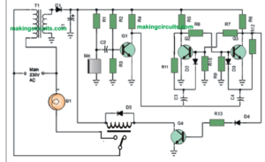 Simple Clap Switch Circuit using Transistors (Tested)