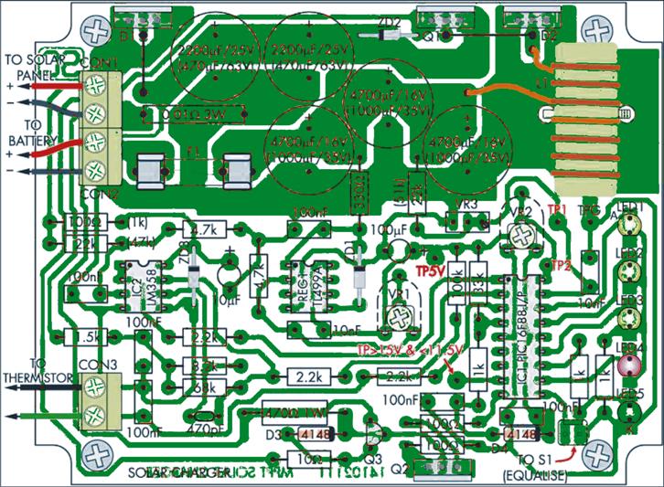 MPPT PCB track layout
