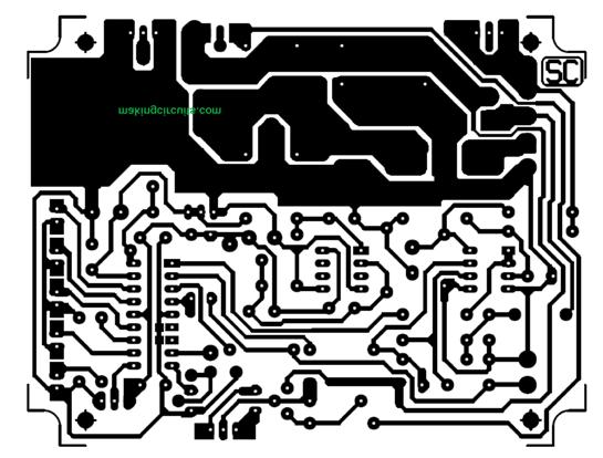 PCB track layout MPPT
