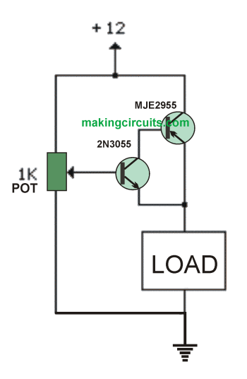 simplest 0-100V variable power supply circuit