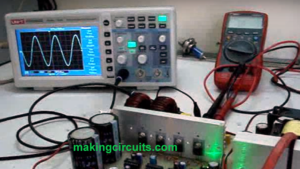 Sinewave UPS Circuit using PIC16F84A