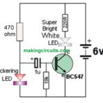 Simplest Strobe Light Circuit