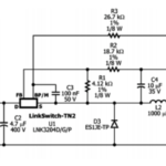 12V 100mA SMPS Transformerless Power Supply Circuit
