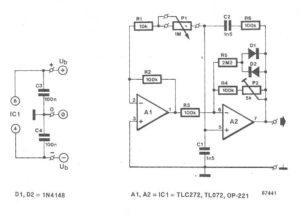 Sine wave Generator Circuit using Wein Bridge Oscillator