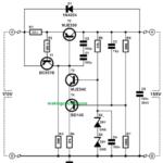 110V, 220V Voltage Regulator Circuit