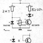 Simple Temperature Indicator using BC547 Transistor
