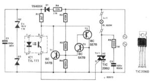 LED Amplifier Circuit