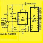 10 Channel Capacitive Touch Switch Circuit