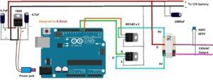 Simple Square Wave Inverter Circuit Using Arduino