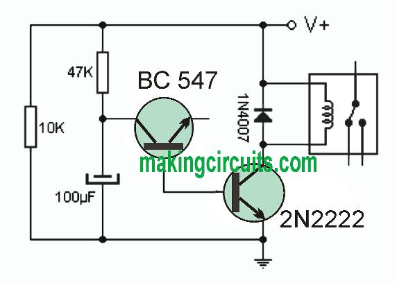 Diesel Engine Delay Start Circuit
