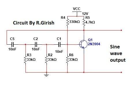 Understanding Phase shift Oscillator
