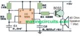 Simple Rat Repellent Circuit