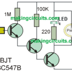 Non-Contact AC Mains Tester Circuit