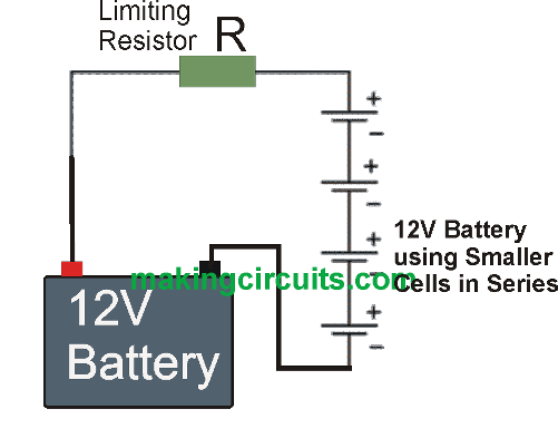 single resistor current controlled charger circuit