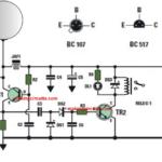 Capacitive Proximity Sensor Alarm Circuit