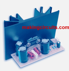 36 watt btl power amplifier circuit using ic tda1562q36 Watt Audio Power Amplifier Based On Tda1562q #12