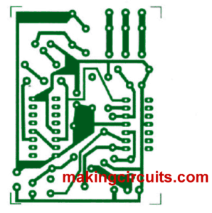 clap switch PCB layout