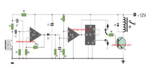 Very Sensitive Clap Switch Circuit