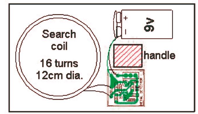 metal detector search col construction