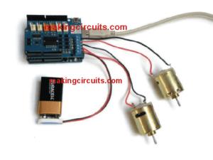 Wireless DC Motor Speed Control Using Arduino