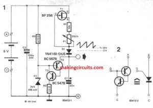 Simple Sawtooth Generator Circuit