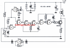 Vibration Activated Alarm Circuit