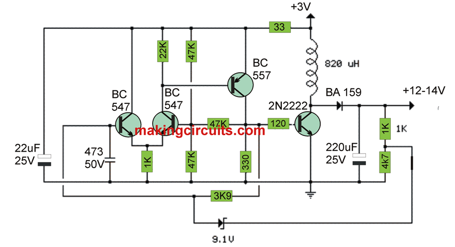 Stupendous 12V Boost Regulator Circuit Electronic Circuits And Diagram Basic Wiring Cloud Intapioscosaoduqqnet