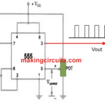Simple Voltage Controlled Oscillator using IC 555